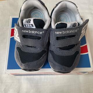 New Balance - ベビーシューズ ニューバランス 13cm NAVY