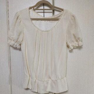 レストローズ(L'EST ROSE)のレストローズ 半袖シフォンブラウス(シャツ/ブラウス(半袖/袖なし))