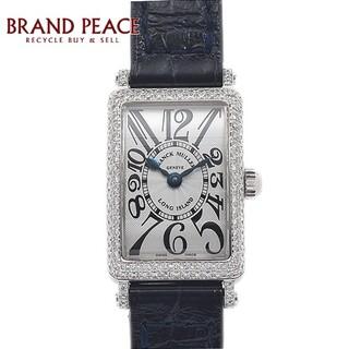 フランクミュラー(FRANCK MULLER)のフランクミュラー ロングアイランド プティ レディース ベゼルダイヤ シルバー文(腕時計)