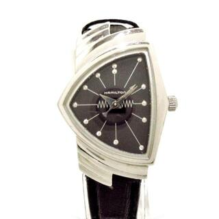 ハミルトン(Hamilton)のハミルトン ベンチュラ 6259 レディース 黒(腕時計)