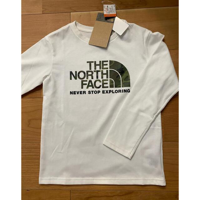 THE NORTH FACE(ザノースフェイス)のノースフェイスTシャツ140 キッズ/ベビー/マタニティのキッズ服女の子用(90cm~)(Tシャツ/カットソー)の商品写真