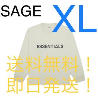 FEAR OF GOD - ESSENTIALS FOG ロンT sage XL
