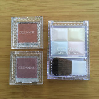 CEZANNE(セザンヌ化粧品) - セザンヌ ハイライト アイシャドウ 3点セット
