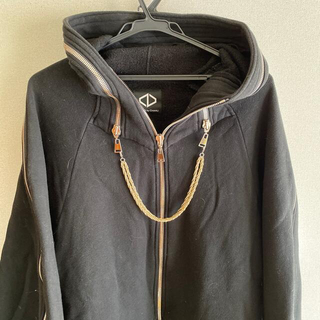 acuod by chanu zip parka zipパーカー チェーン付き