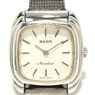 ラドー(RADO)のRADO(ラドー) - レディース 白(腕時計)