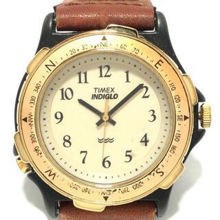 タイメックス(TIMEX)のタイメックス - ボーイズ 回転ベゼル(腕時計)