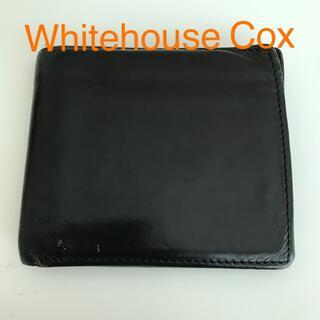 ホワイトハウスコックス(WHITEHOUSE COX)のWhitehouse Cox 折り財布(折り財布)