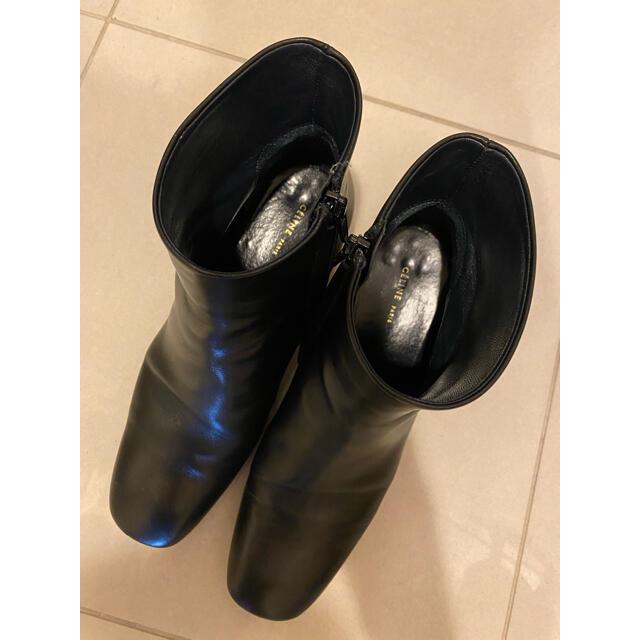 celine(セリーヌ)のセリーヌ ブーツ バンバン 5センチ 38.0 フィービーファイロ bambam レディースの靴/シューズ(ブーツ)の商品写真