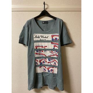 アンディウォーホル(Andy Warhol)のアンディウォーホル バイ ヒステリックグラマー カットソー Tシャツ 半袖 F(Tシャツ/カットソー(半袖/袖なし))