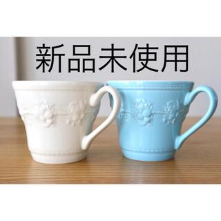 ウェッジウッド(WEDGWOOD)の【新品未使用】WEDGWOOD ペアマグカップ(グラス/カップ)