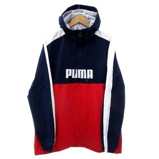 プーマ(PUMA)のプーマ ハーフジップ ウーブン ジャケット 577525 ナイロン XL(その他)