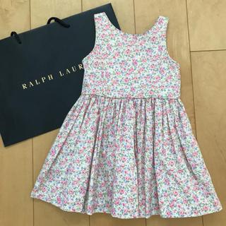 Ralph Lauren - 最終価格。美品✴︎ラルフローレン✴︎花柄ワンピース 3T