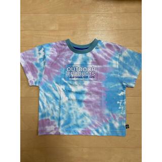 アウトドアプロダクツ(OUTDOOR PRODUCTS)のOUTDOOR タイダイ Tシャツ キッズ110(Tシャツ/カットソー)
