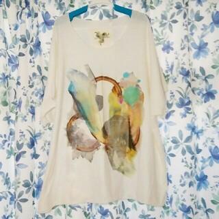 オータ(ohta)の【new!】balmung オーバーサイズビックTシャツ (白)(Tシャツ/カットソー(半袖/袖なし))