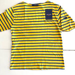 セントジェームス(SAINT JAMES)のセントジェームス✴︎ピリアック✴︎イエロー×ネイビー✴︎T3(Tシャツ(長袖/七分))
