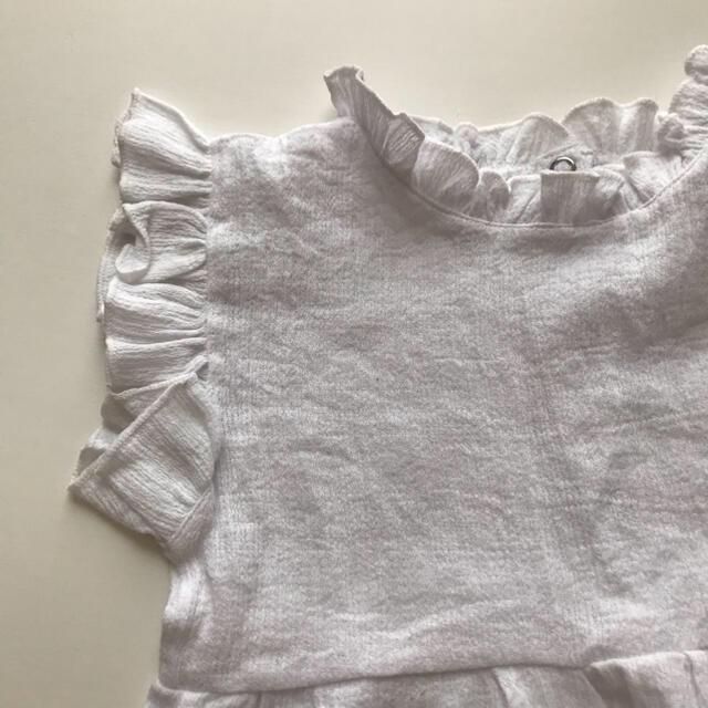 フリルオールインワン⭐︎サロペット⭐︎90サイズ⭐︎海外こども服 韓国子供服 キッズ/ベビー/マタニティのキッズ服女の子用(90cm~)(その他)の商品写真