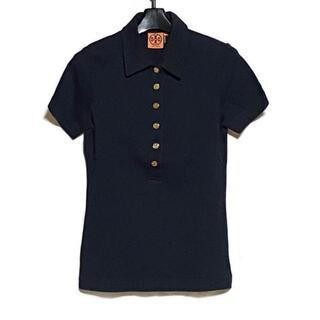 トリーバーチ(Tory Burch)のトリーバーチ サイズS レディース ネイビー(ポロシャツ)