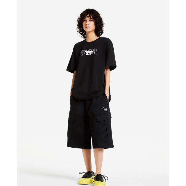 MAISON KITSUNE'(メゾンキツネ)の【Sサイズ残り1点】メゾンキツネ×PUMAコラボ Tシャツ メンズのトップス(Tシャツ/カットソー(半袖/袖なし))の商品写真