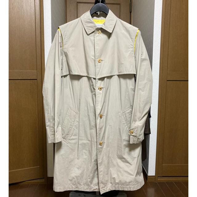 kolor(カラー)のkolor ステンカラー コート Size 3 メンズのジャケット/アウター(ステンカラーコート)の商品写真