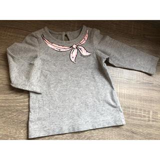 ケイトスペードニューヨーク(kate spade new york)のケイトスペード 女児長袖Tシャツ 80㎝(Tシャツ)