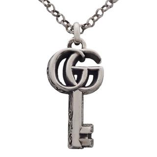 Gucci - グッチ ダブルG キー ネックレス シルバー925 40800070119