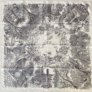 Hermes -  HERMES スカーフ カレ90 レイラの庭