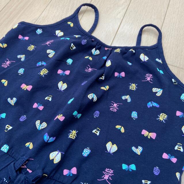HYSTERIC MINI(ヒステリックミニ)のH&Mサロペット130 キッズ/ベビー/マタニティのキッズ服女の子用(90cm~)(パンツ/スパッツ)の商品写真
