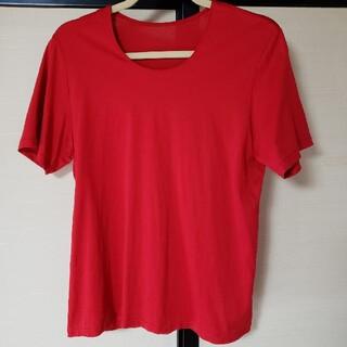 シャルレ(シャルレ)のシャルレ Tシャツ M   赤(Tシャツ(半袖/袖なし))