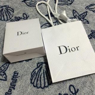 ディオール(Dior)のdiorギフトbox&ショッパーセット(ラッピング/包装)