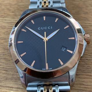 Gucci - GUCCI  グッチ Gタイムレス デイト 126.4 メンズ 腕時計