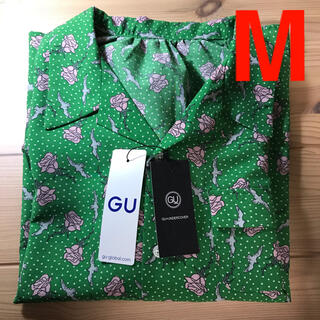 GU - GU UNDERCOVER コラボ ブラウス グリーン Mサイズ 新品未使用