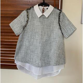 ローズバッド(ROSE BUD)のrosebud レイヤードトップス(シャツ/ブラウス(半袖/袖なし))