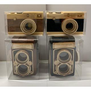 カルディ エウレカ カメラ 4点セット レフレックス 木箱(小物入れ)