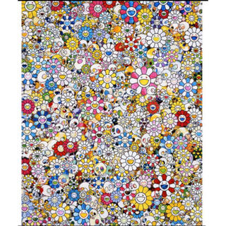 専用 村上隆 Skulls Flowers Multicolor 版画 ポスター(版画)