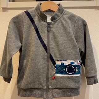 familiar - ファミリア カメラ アウター 90 ジャケット 羽織り パーカー 上着
