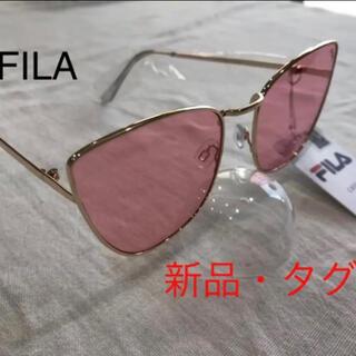 FILA - 新品 フィラ FILA サングラス  UVカット メンズ レディース ピンク