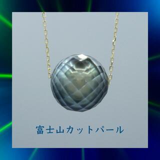 1粒 10mm パール 真珠  k18yg イエローゴールド ネックレス ペンダ(ネックレス)