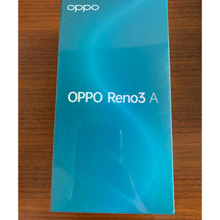 OPPO - oppo Reno3 A ブラック SiMフリー