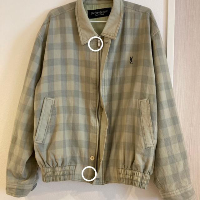 Saint Laurent(サンローラン)のYVES SAINT LAURENT pour homme スウィングトップ  メンズのジャケット/アウター(ブルゾン)の商品写真