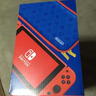 ニンテンドースイッチ(Nintendo Switch)のNintendo Switch マリオ レッド×ブルー セット(家庭用ゲーム機本体)