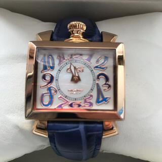 ガガミラノ(GaGa MILANO)のガガミラノ ナポレオーネ40MM腕時計クォーツ  6031.4 国内正規品 美品(腕時計)