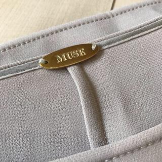 DEUXIEME CLASSE - 美品 ドゥーズィエムクラス  トリアセジョーゼット  ドロップブラウス