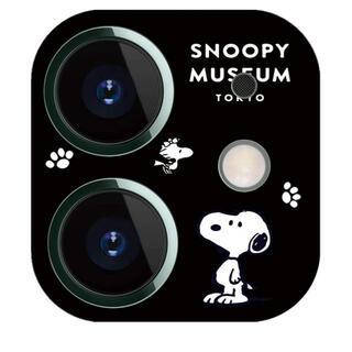 SNOOPY - 新品未使用未開封!iPhone12 スヌーピー カメラ保護フィルム ブラック