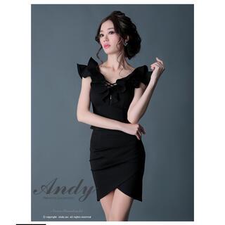 Andy - andy ドレス ブラック グラマラス