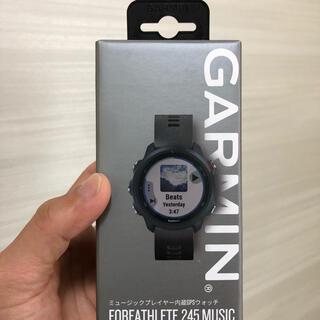 ガーミン(GARMIN)のガーミン 245  ミュージック 新品未開封(ランニング/ジョギング)
