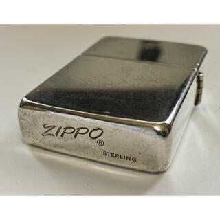 ZIPPO - Zippo/ライター/斜体/スターリングシルバー/スタシル/80's/イタリック
