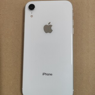 iPhone - iPhone XR 64GB 白 SIMロック解除