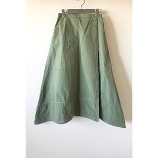 Drawer - Drawer サーフバイオAラインスカート 38 ドゥロワー 21ss