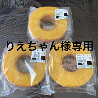 治一郎 バウムクーヘン 364g&343g&344g(菓子/デザート)