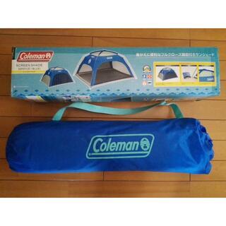 Coleman - コールマン  スクリーンシェード(アーガイル/ブルー)
